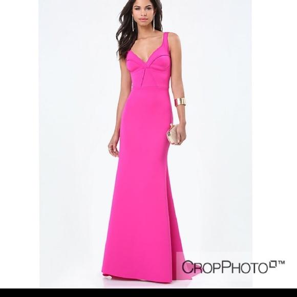 Dresses | Fuschia Gown | Poshmark